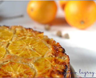 Torta rovesciata all'arancia e cardamomo | Cardamom and orange upside-down cake
