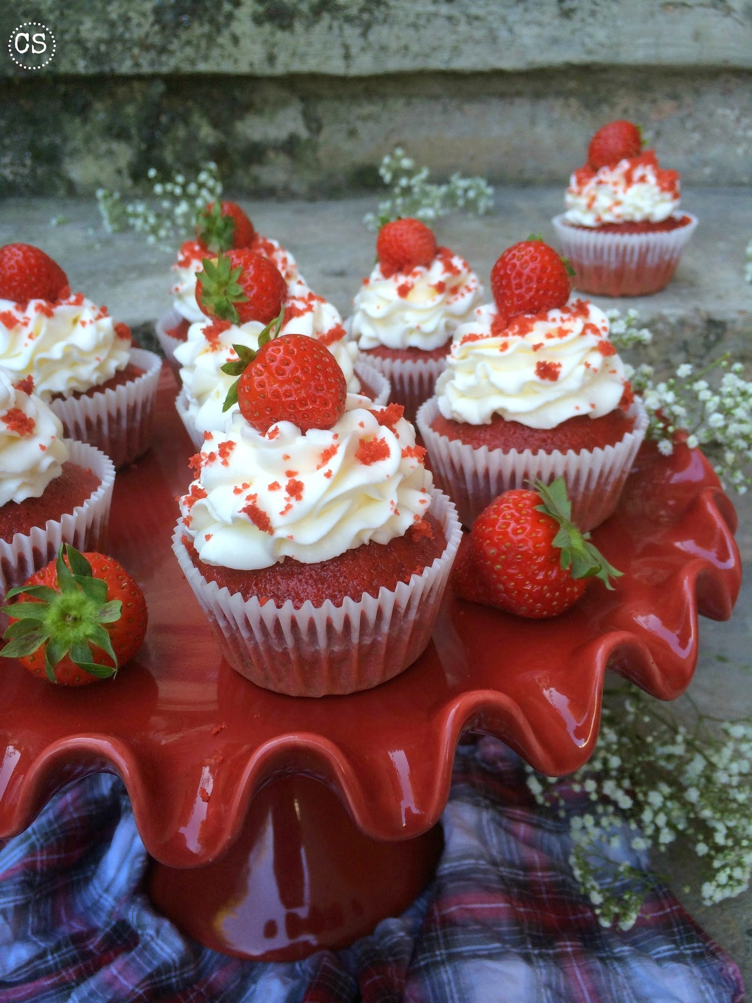 Como hacer red velvet cupcakes