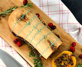 Recipe: Festive Butternut Roast (& what makes the ultimate vegetarian & vegan Christmas dinner?)