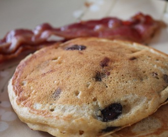 Chocolate Chip Pancakes and How to Make Your Own Buttermilk