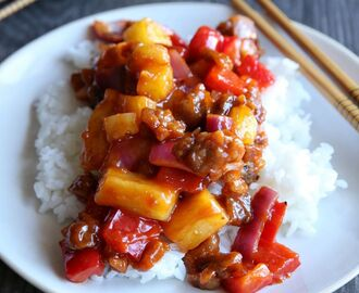 Sizzling Sweet and Sour Pork