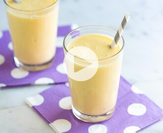 Easy 5-Minute Banana Smoothie Recipe