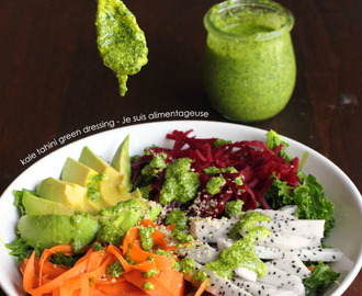 Kale Tahini Green Dressing