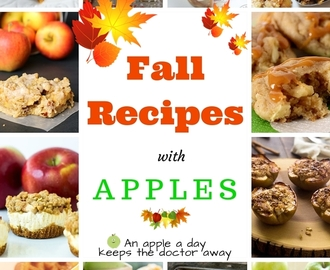 Fall Apple Recipes from some of my favorite Food Blogs!