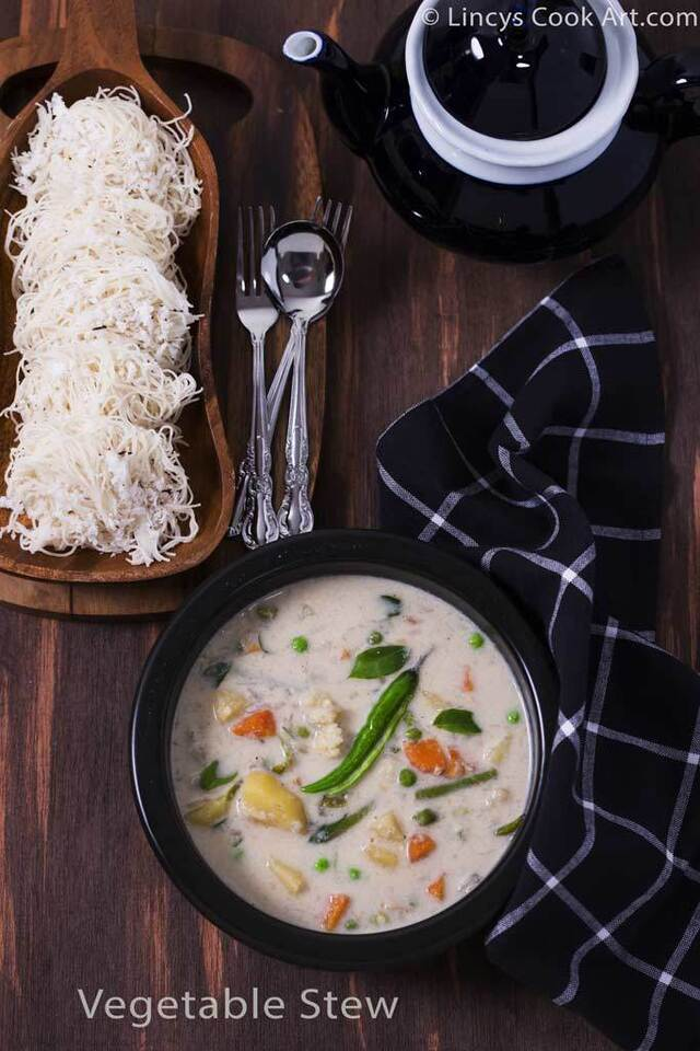Vegetable Stew using coconut Milk