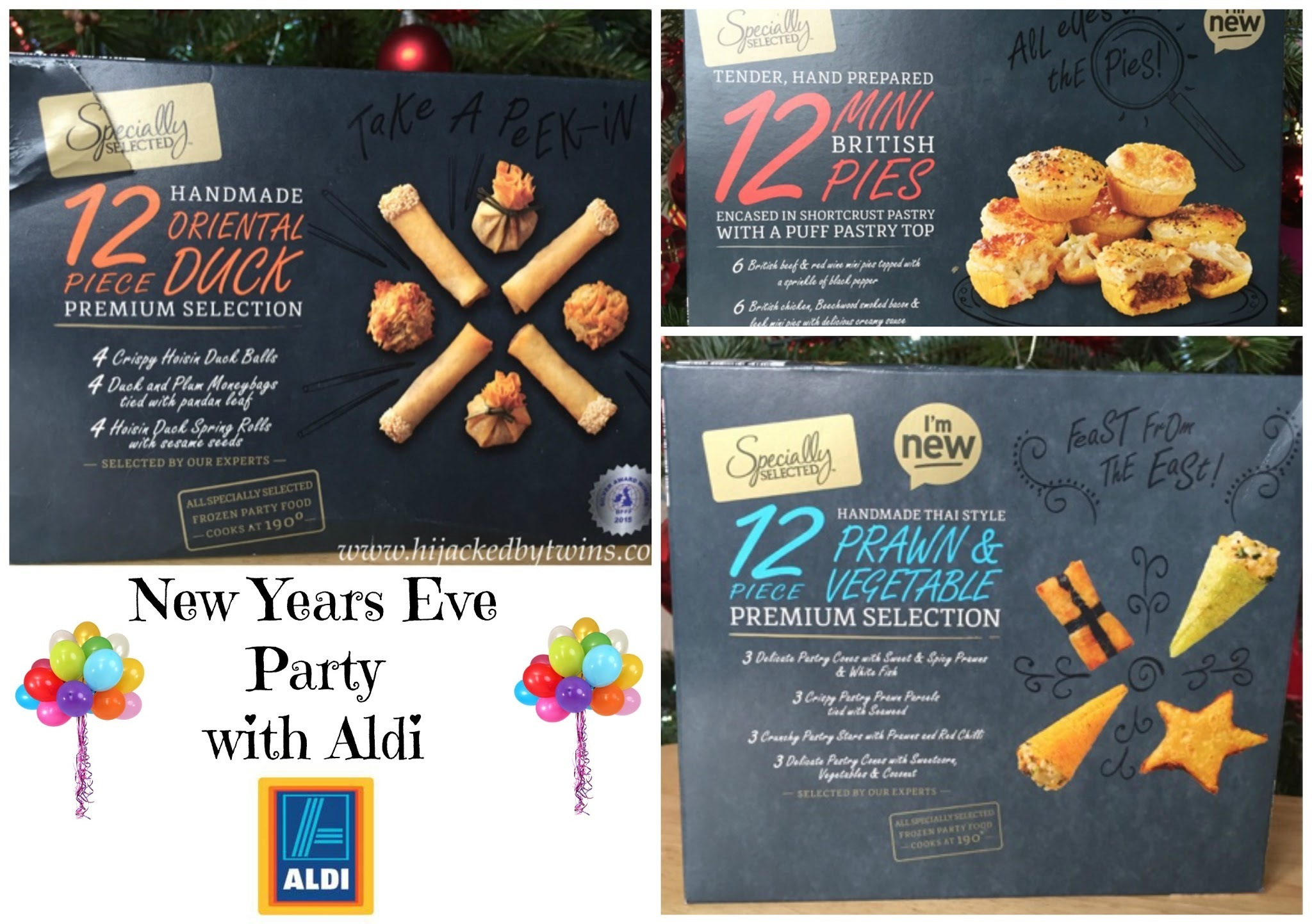 New Years Eve Party Food with Aldi