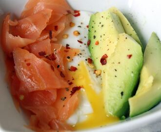 Smoked salmon and avocado breakfast pot recipe