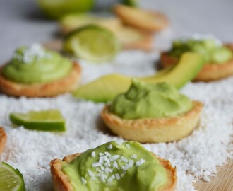 Tartelettes pastels avocat-coco-citron vert (Battle Food #41)