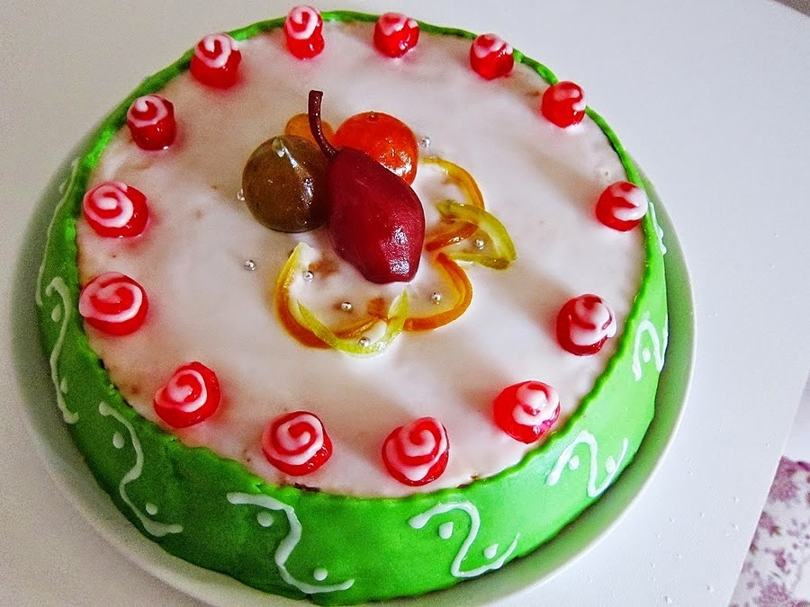 Sicilian Cassata (recipe in English)