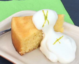 Lime Sour Cream Cake