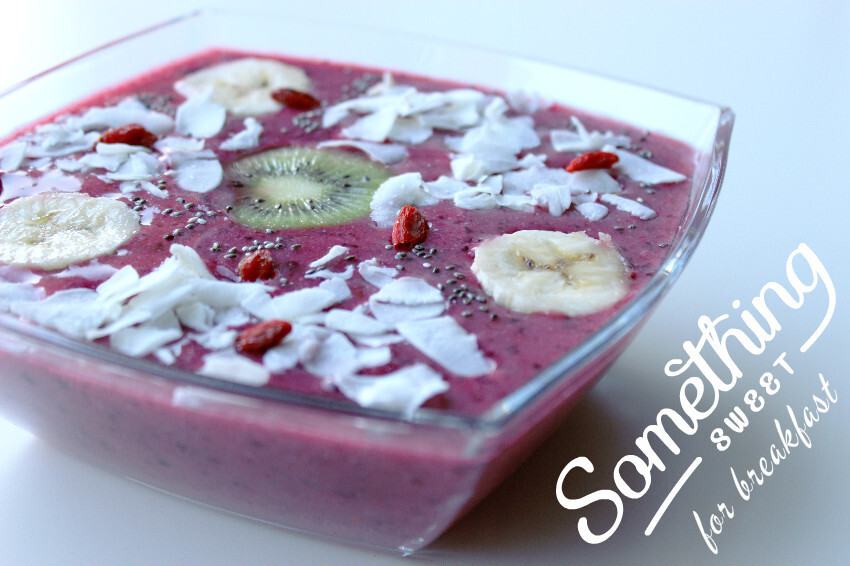 recept: smoothie bowl