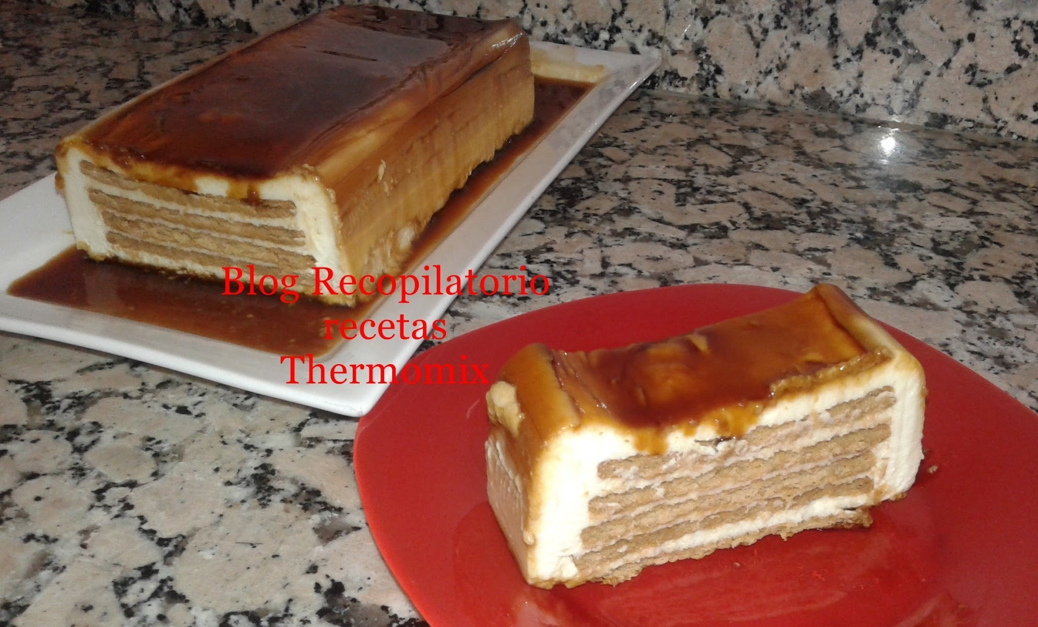 Tarta de galletas y queso philadelphia‏ con thermomix