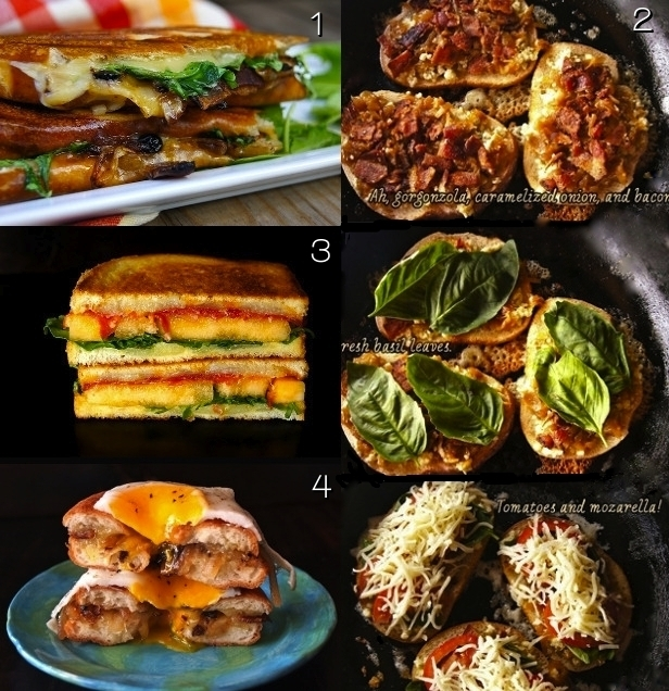 Grilled Cheese Month: Top Ten Grilled Cheese Sandwich Recipes