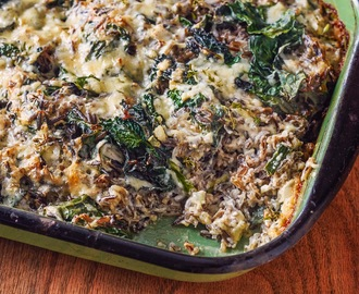 Recipe: Wild Rice and Kale Casserole