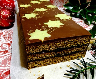 Traditional maturing Polish gingerbread cake