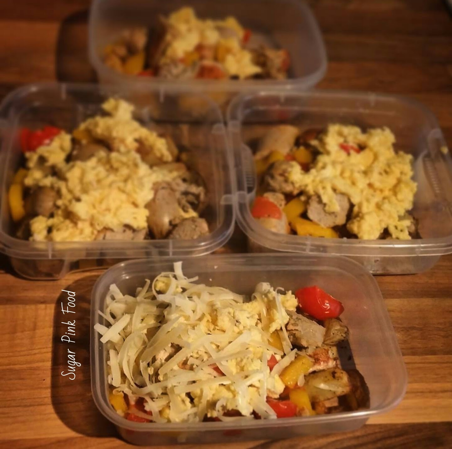 Slimming World Friendly Recipe:- Country Breakfast Bowls (freezable)