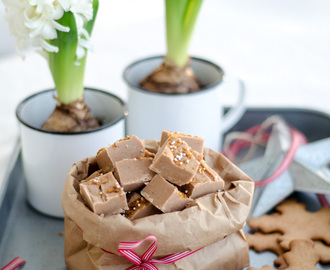 Gingerbread Fudge (Pepparkaksfudge)