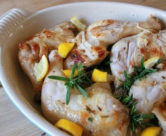 Braised Lemon-Rosemary Chicken