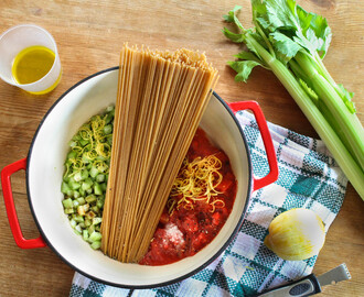 One-pot Bloody Mary Pasta