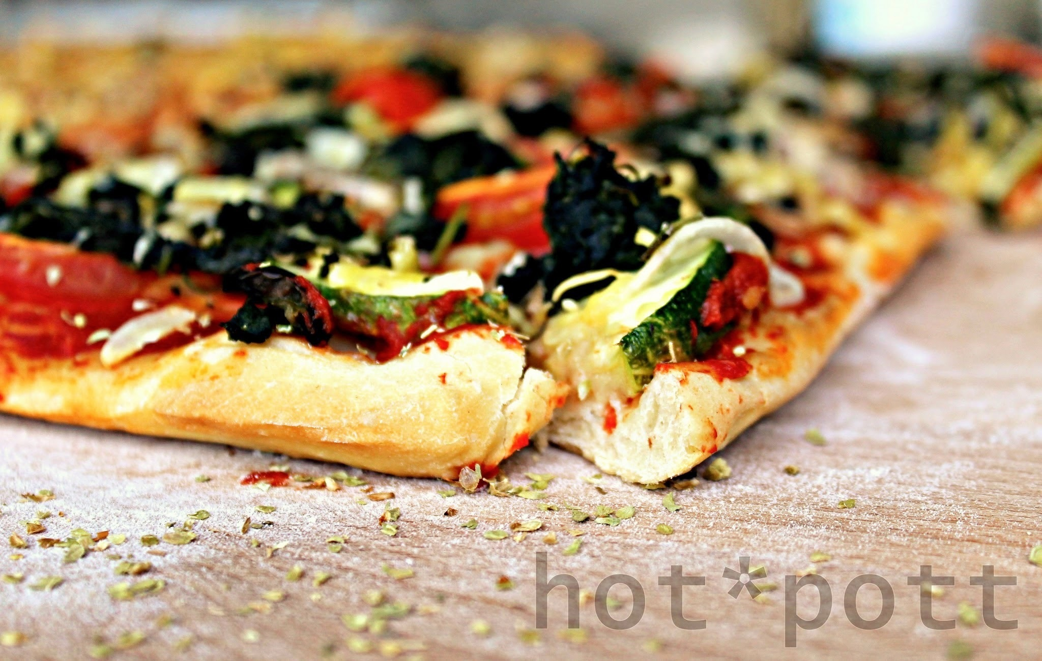 Let´s cook together! Pizza Vegetariana