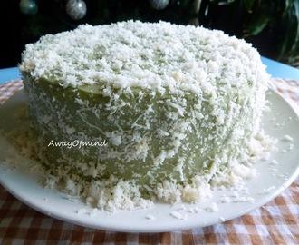 New Challenge: Pandan Layer Cake