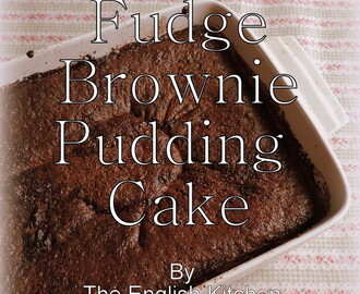 Fudge Brownie Pudding Cake