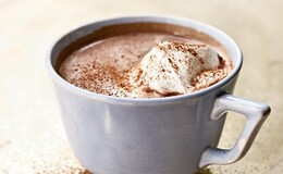 Hot Chocolate With Mintstick