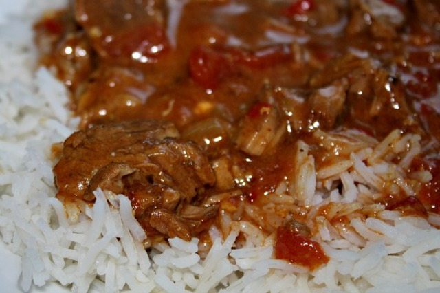 Slow Cooker Lamb Balti