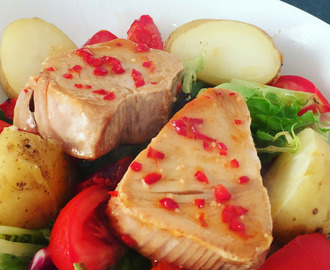 Chilli and Lime Tuna Steaks