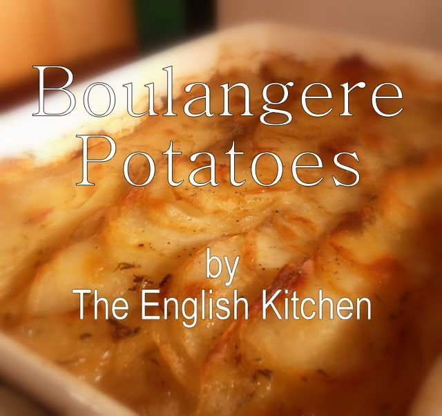 Party Potatoes (Potatoes Boulangere)