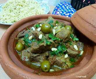 Lamb Tagine with Olives using Welsh Lamb