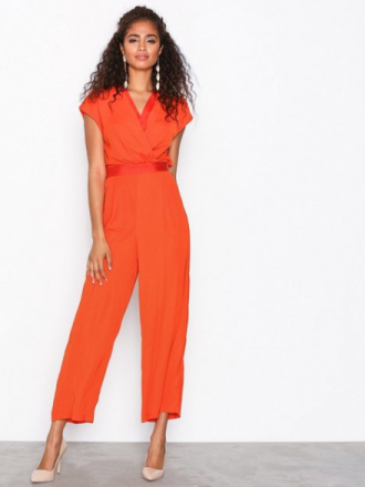 Y.A.S Yasmamba S/S Jumpsuit Jumpsuits Orange