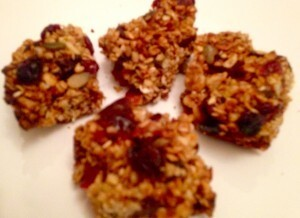 Cranberry, Raisin, Date, Super Seed Flapjack