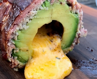 SMOKED & STUFFED AVOCADO - english Grill- und BBQ-Recipe - 0815BBQ
