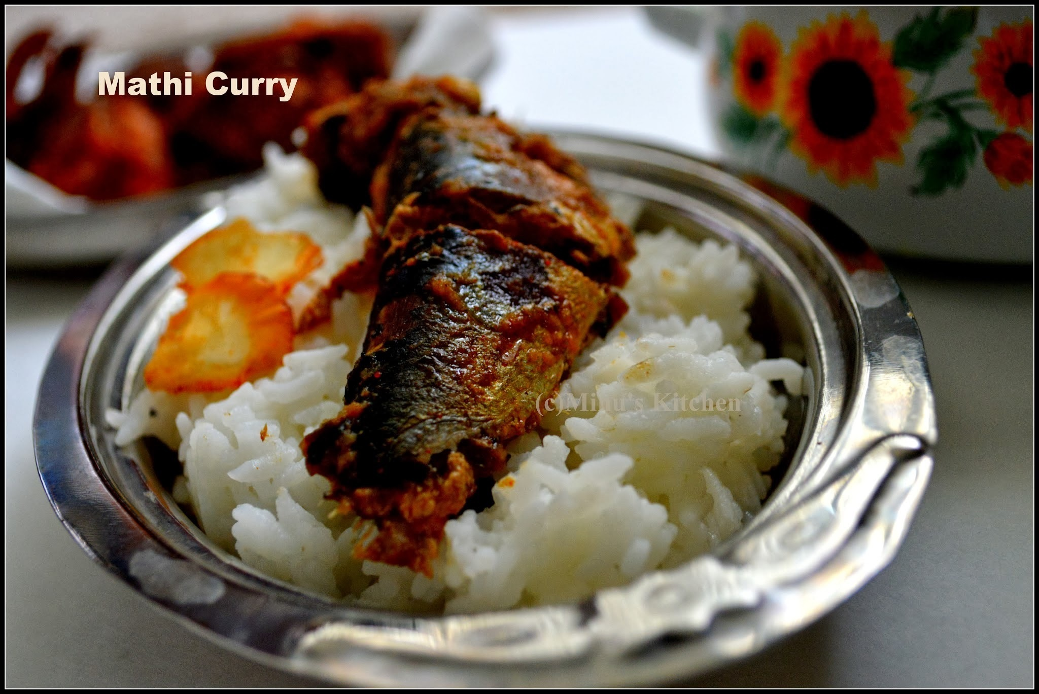Nadan Mathi Curry: Sardines Curry - Traditional Sardines Curry