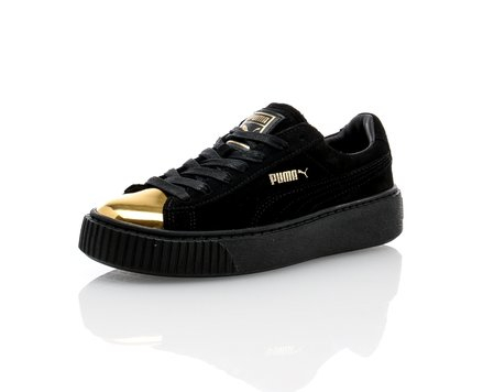 Suede Creepers Gold