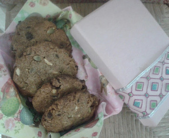 Cookies de frutos secos y chips de chocolate!!