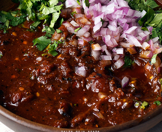 Red Charred Salsa
