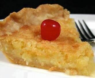PINEAPPLE PIE (FROM FAVORITE RECIPES FROM MAMA CASH'S KITCHEN)