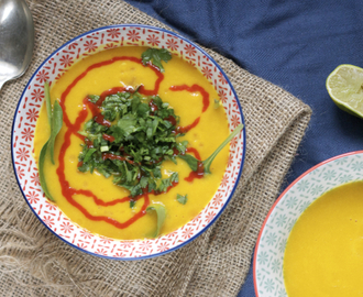 Food: Squash, sweet potato and ginger soup