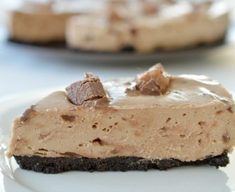 No Bake Mars Bar Cheesecake