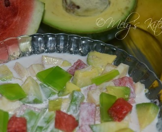Pandan Fruit Salad