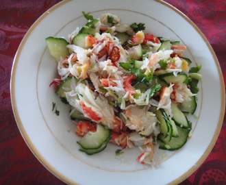 Thai Style King Crab Salad