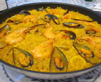 Paella de marisco Thermomix