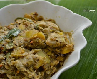 Erissery - Pumpkin With Green Gram Dal curry