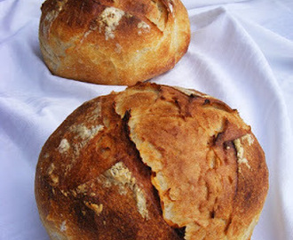 Pityókás cipó  (Sourdough potato bread)