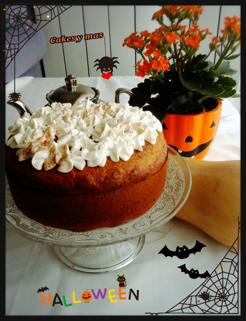 Pastel de Calabaza Light