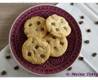 Cookies mit Chocolate Chunks