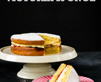 Recipe: How to make the Ultimate Vegan Victoria Sponge