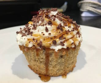 Tiramisu Cupcake with Homemade Coffee Syrup Recipe